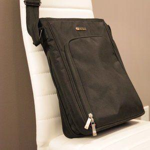 Gino Ferrari Light Black Messenger/Laptop Bag